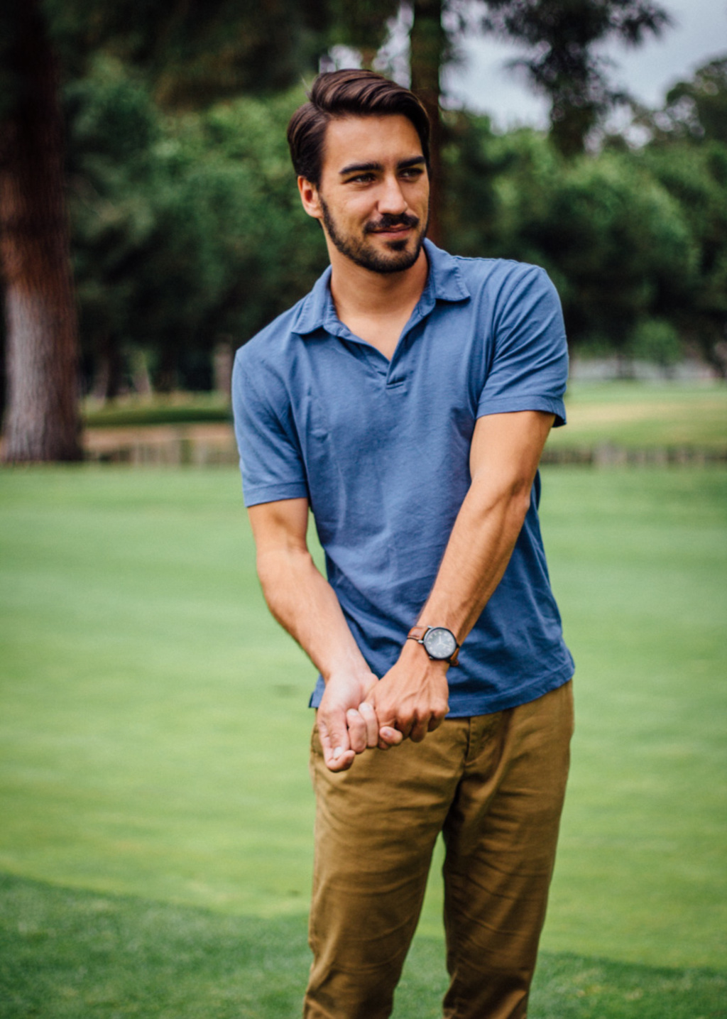 Pistol Lake polo in slate | Get it here: http://bit.ly/1TbETWX