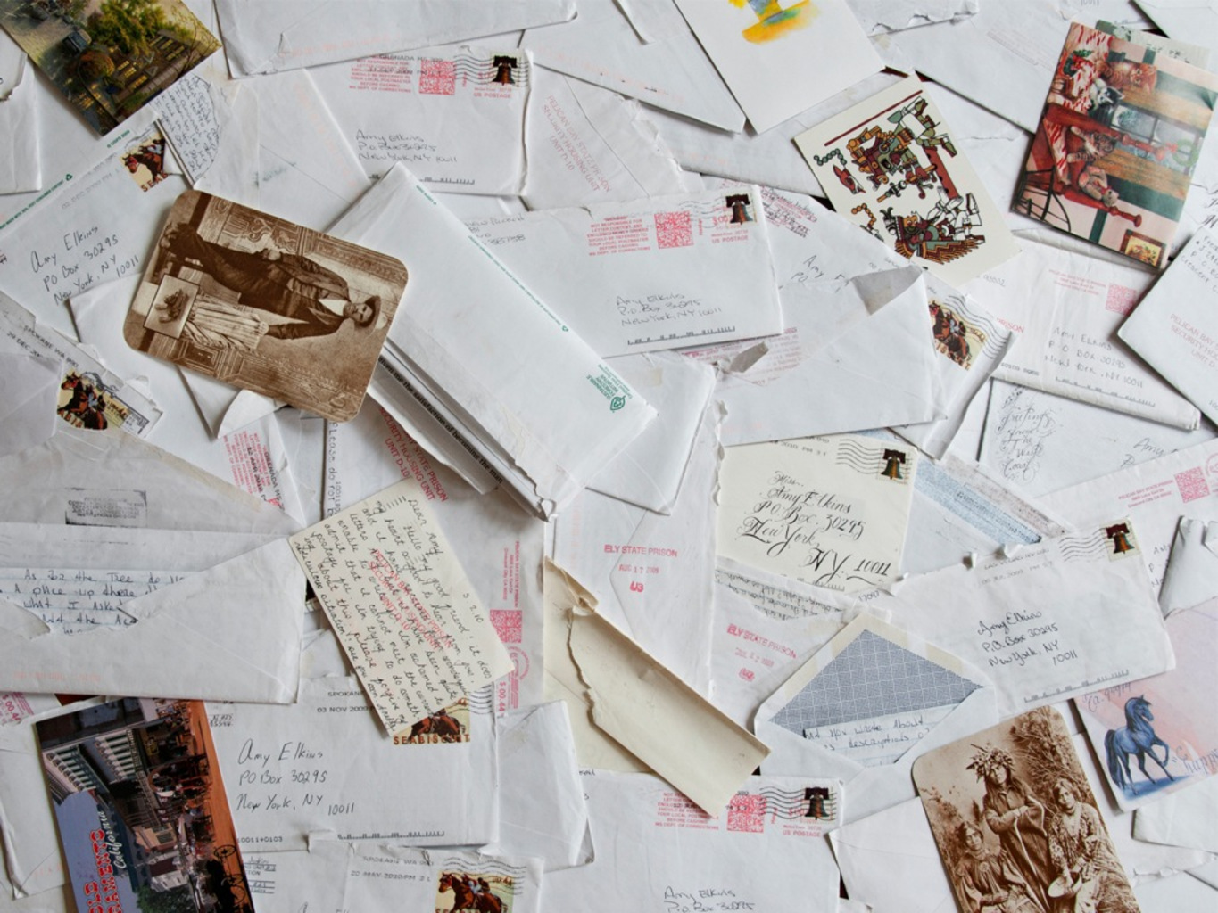 An Accumulation of Prison Correspondence