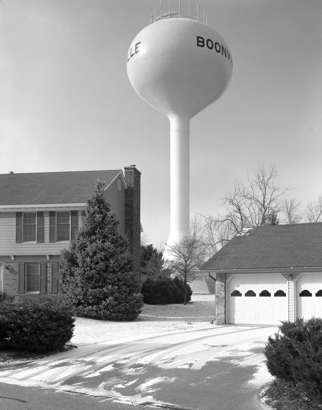 Water Tower, Boonville, MO. 2008. © Timothy Briner