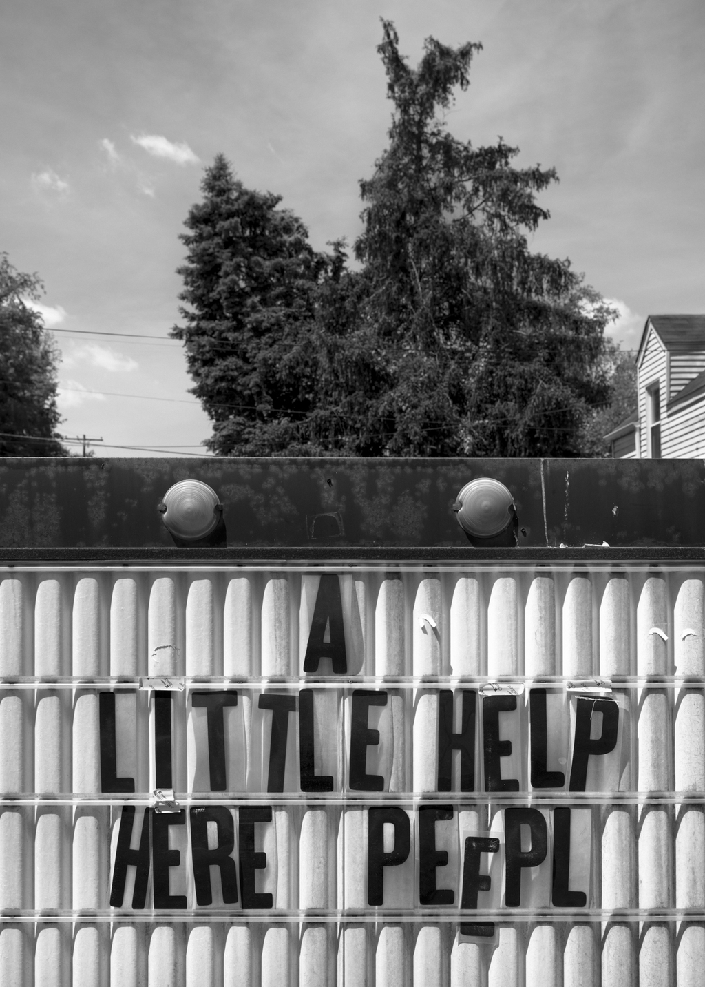 A Little Help Here People, 2013. ©Timothy Briner