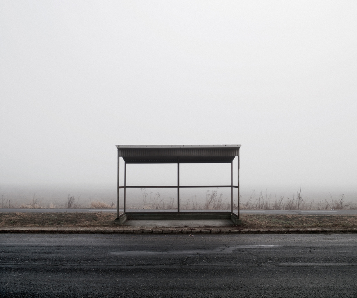 Bus Stop (North-East Hungary, 2011)