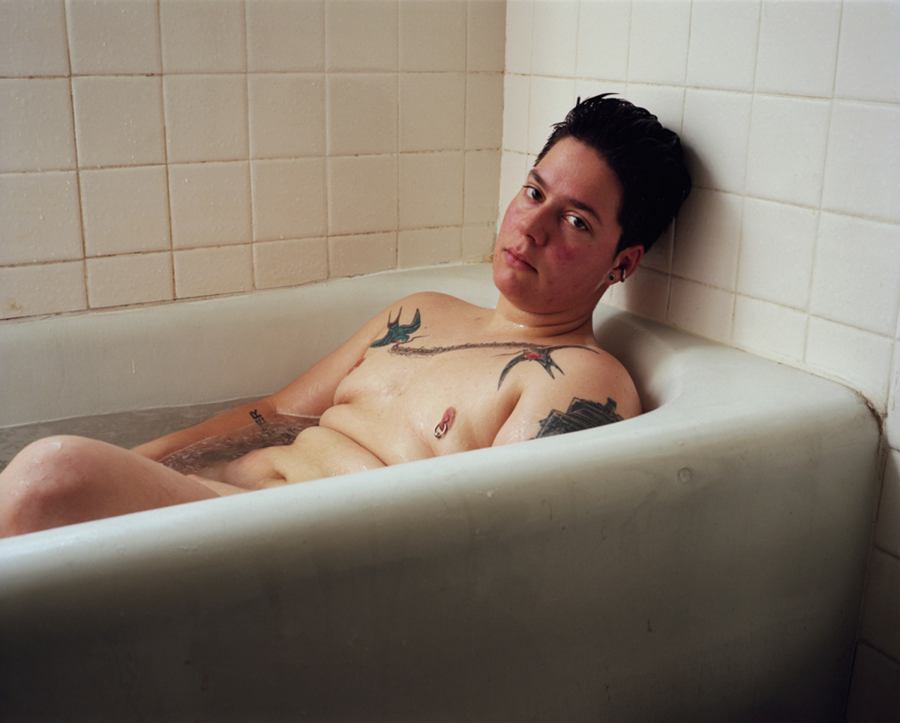 Self-portrait (bath), 2012