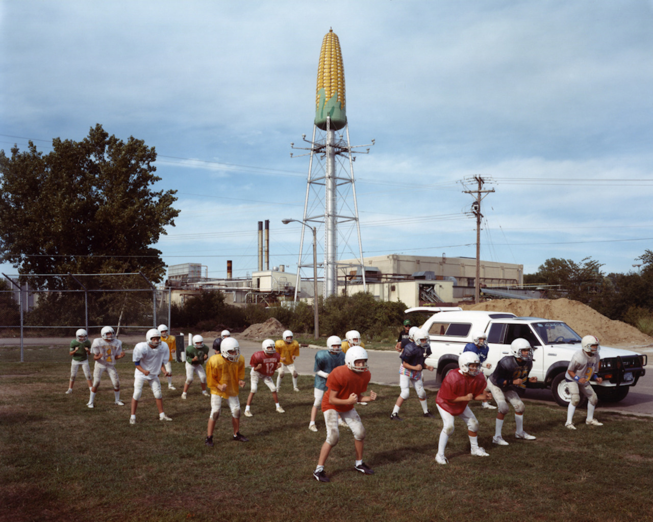 <em>Post Bulletins Practicing at Graham Park, Rochester, Minnesota,</em> 1988