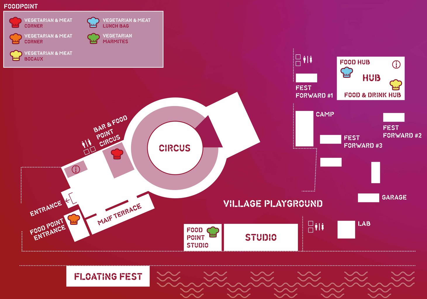OuiShare Fest venue map