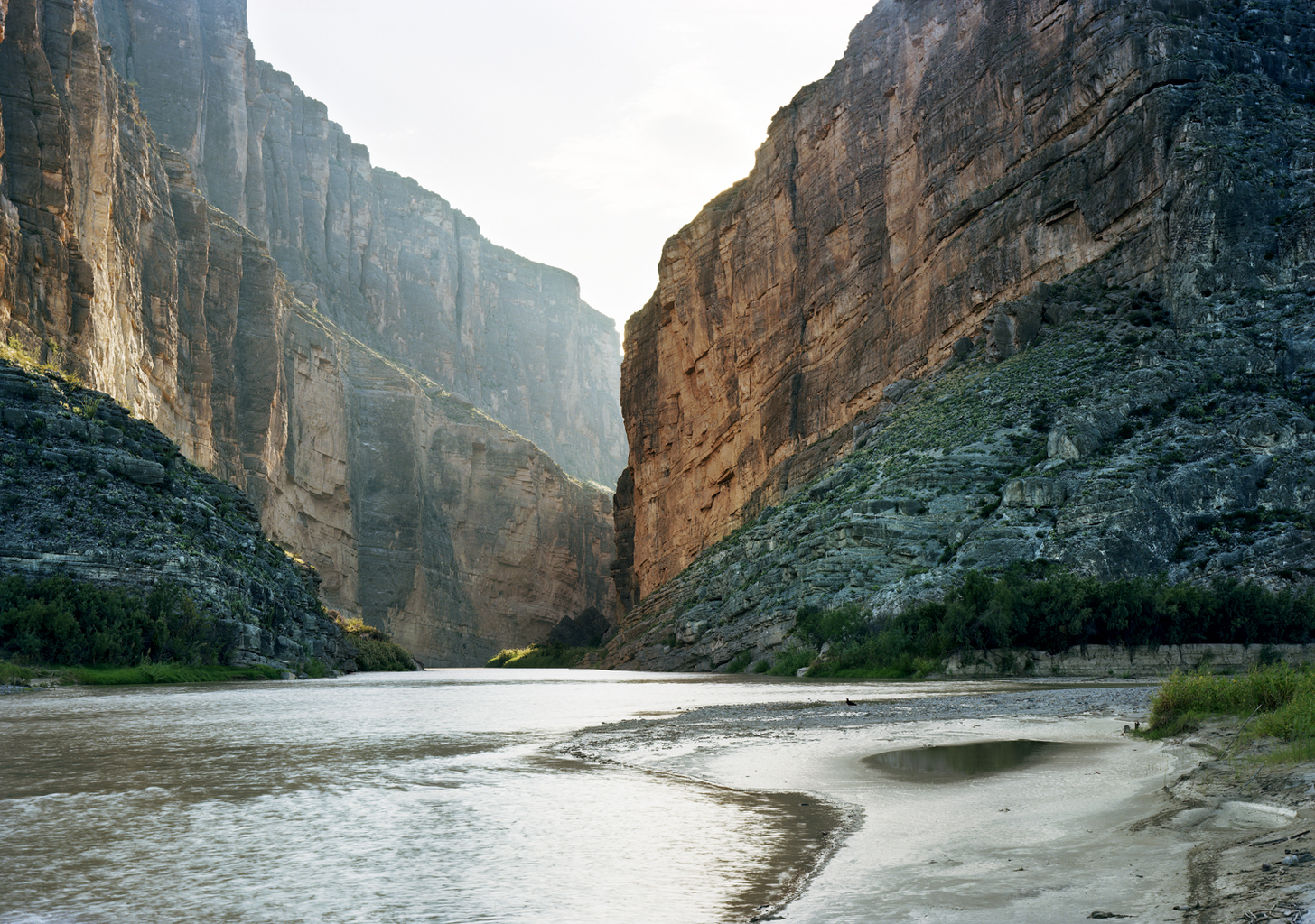 Untitled (Santa Elena Canyon) Big Bend National Park, Texas, October 5, 2010  © Victoria Sambunaris