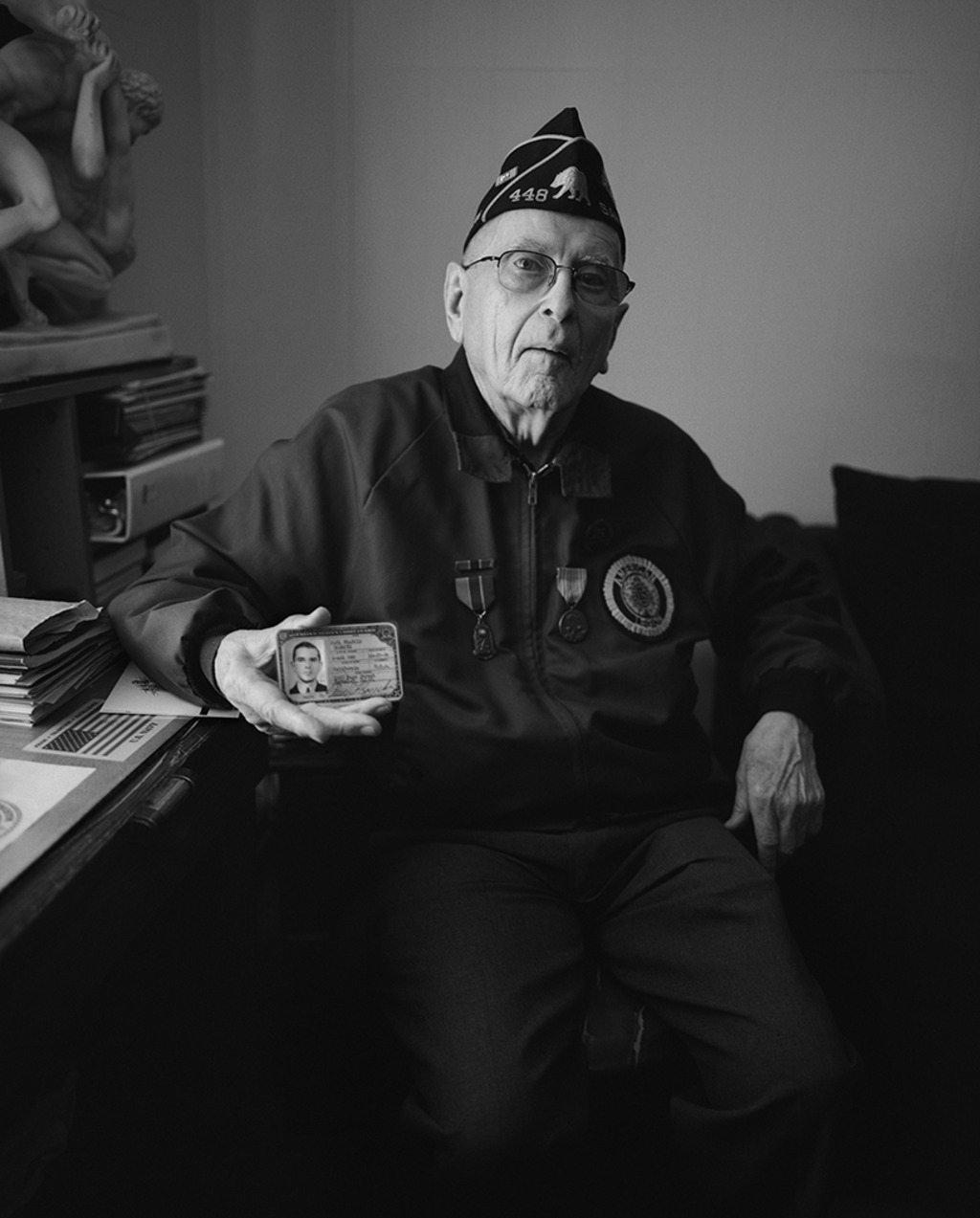 Paul Goercke, San Francisco, CA, 2012 Messman/Staff Officer, US Merchant Marines, 1944–1945