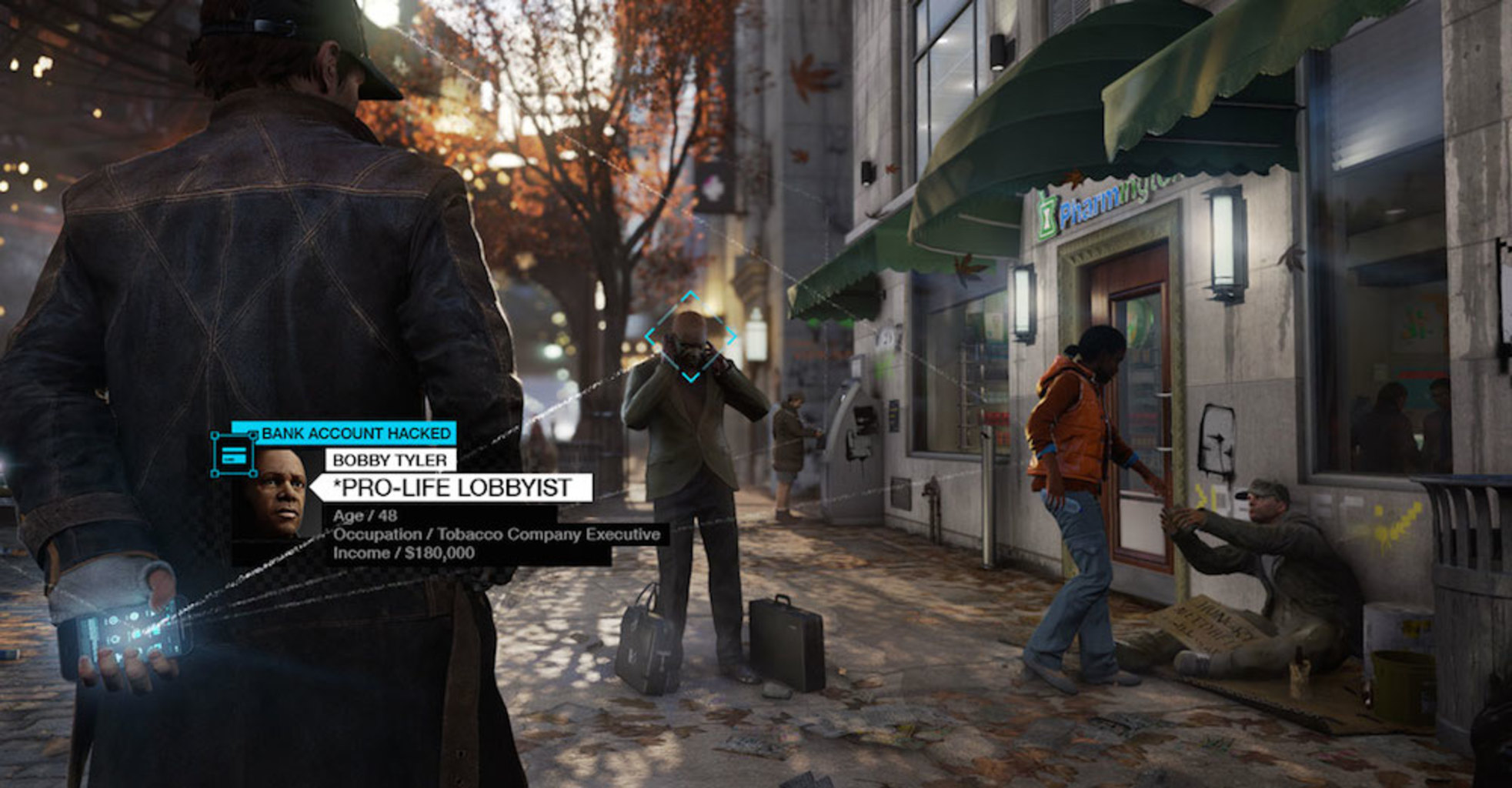 Above: The original Watch Dogs of 2014. (Image Credit: Ubisoft)