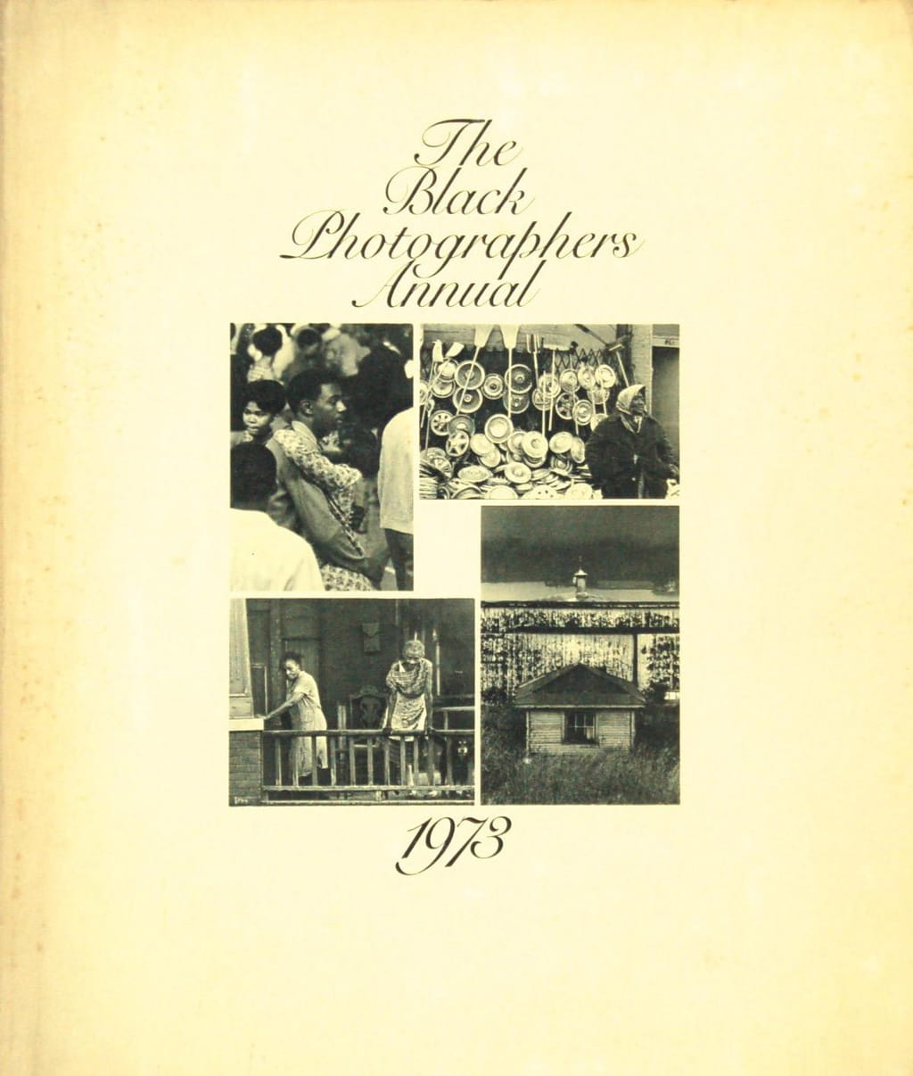 The Black Photographers Annual, published in 1973, was the first of four volumes, and included photographs by Beuford Smith, Lou Draper, Jimmie Mannas, Shawn Walker, and others, was a major influence on Bey's work and practice.