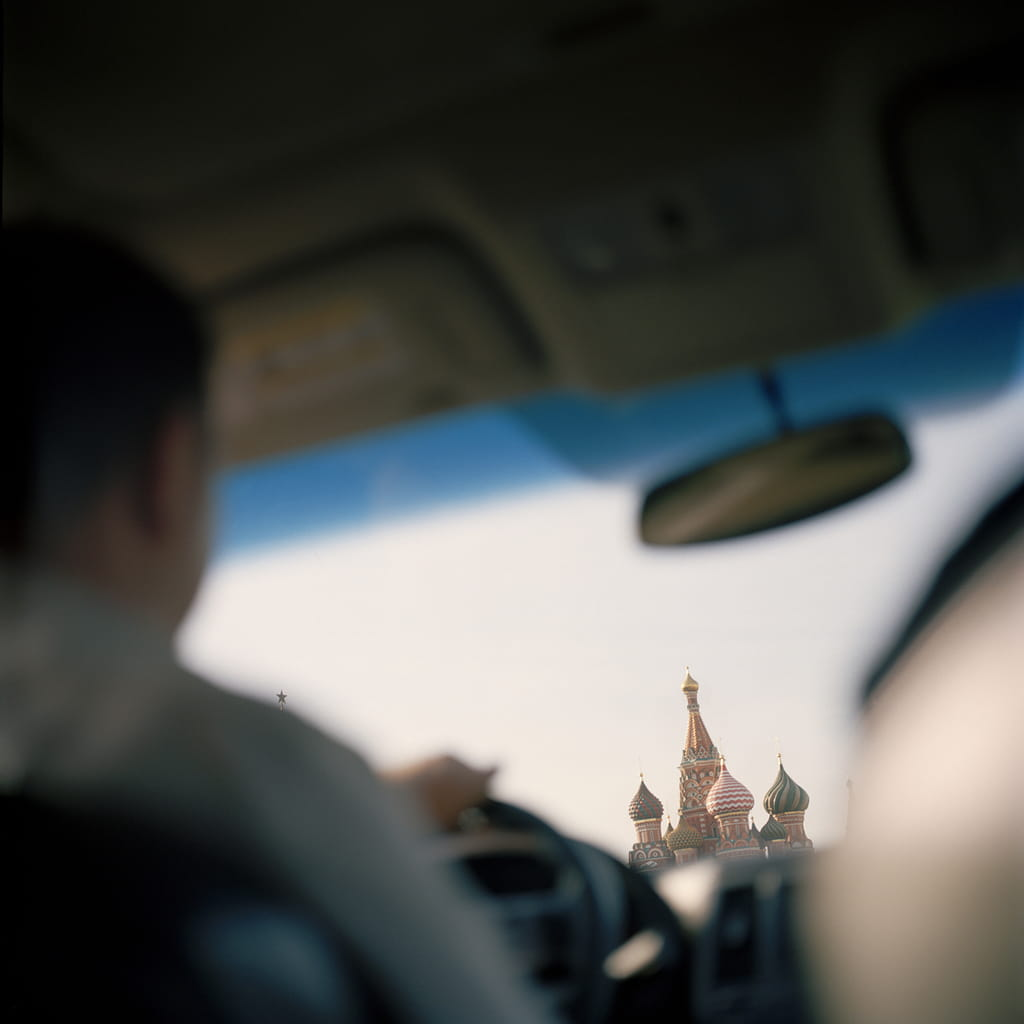 Kremlin in Traffic (from This Russia) © Irina Rozovsky