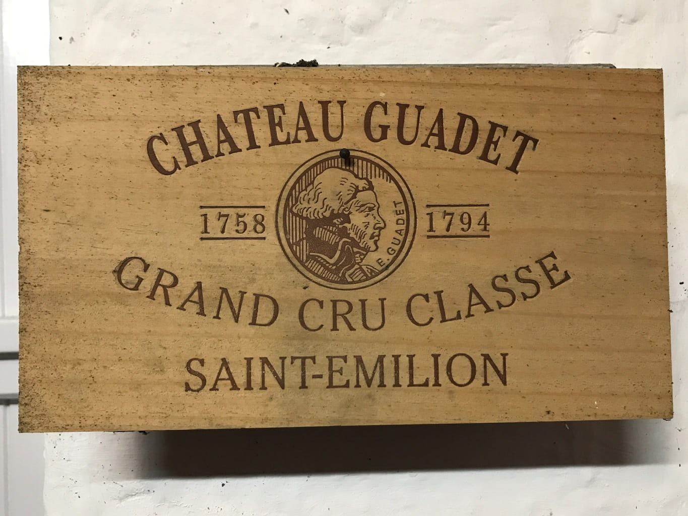 The day starts with a Premier Grand Cru Classe.