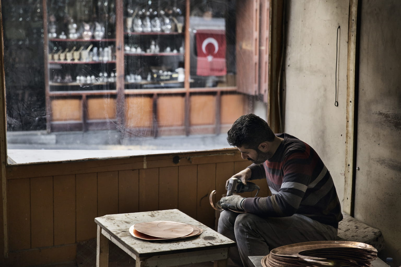 February 22, 2016, Gaziantep, Turkey. Ali's sons Hassan and Bashir were able to move out of their shared house and both have rented homes for their own families and are doing well.