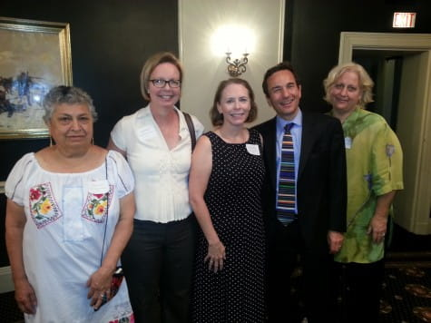 Nurse Practitioner Anna Murphy (2nd from left), NWGI Nurse Honoree 2018