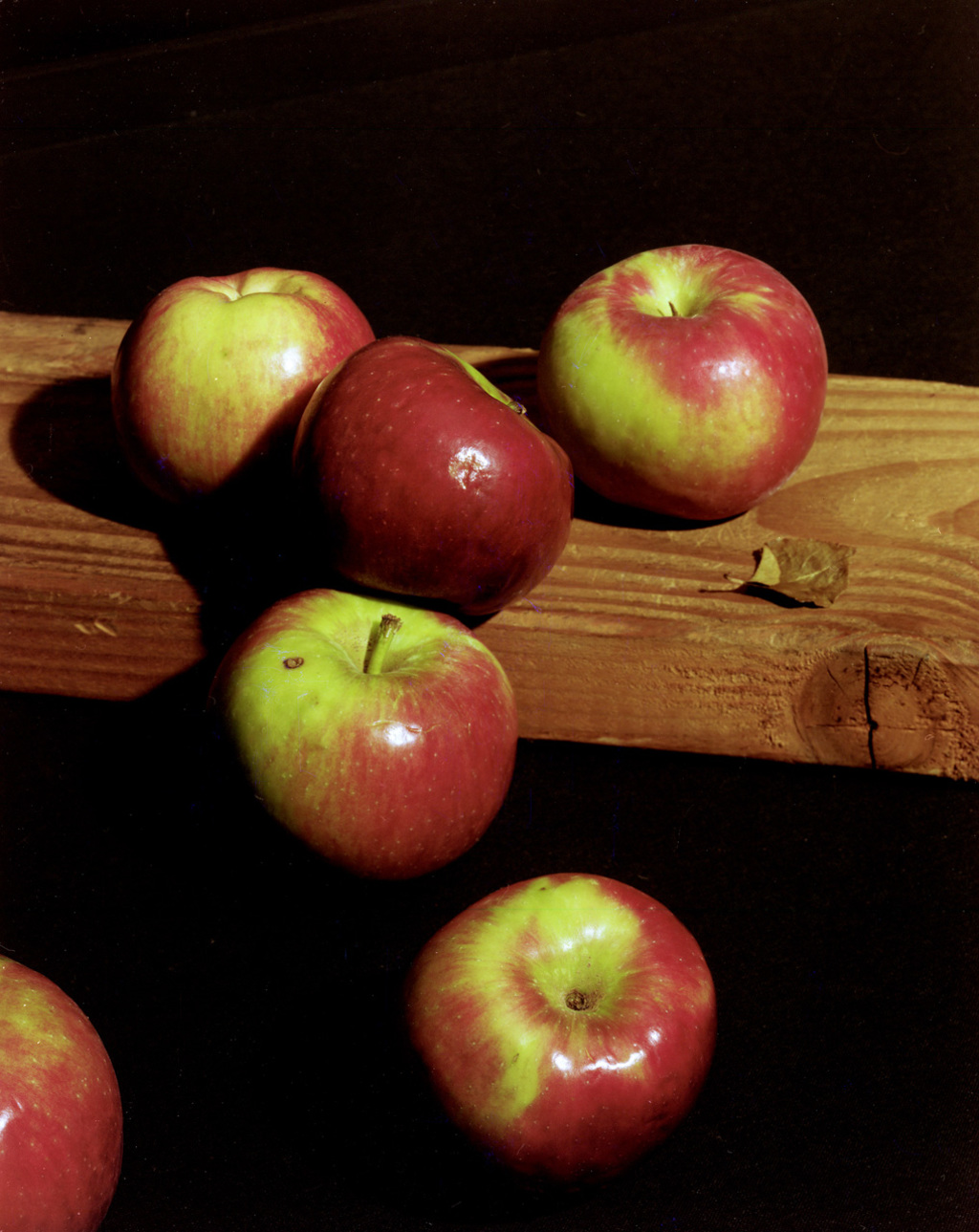 Apples and Wood, 2009 © Lucas Blalock