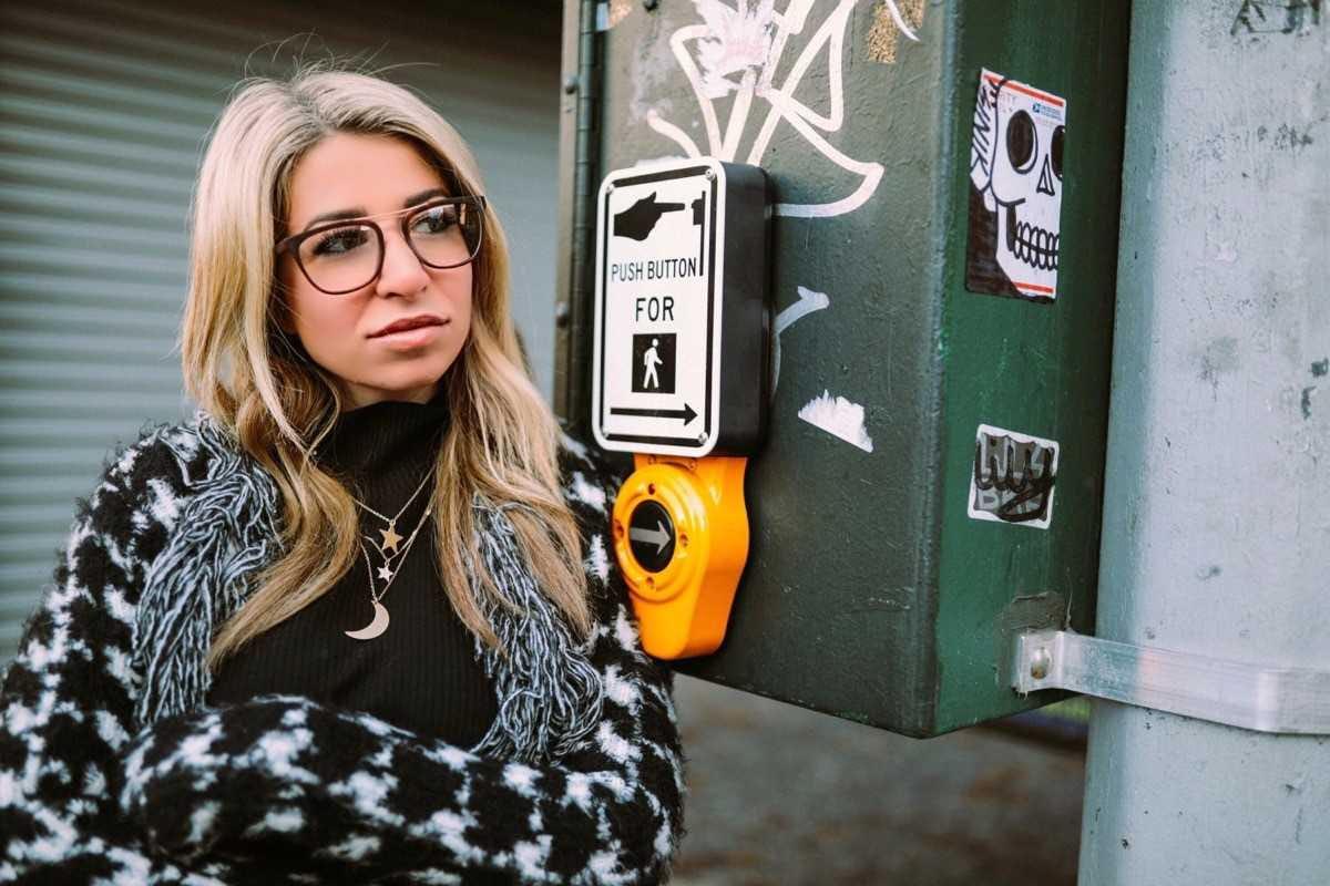 4e03a812a2e Rachel wearing The Kiera frames in Tortoise