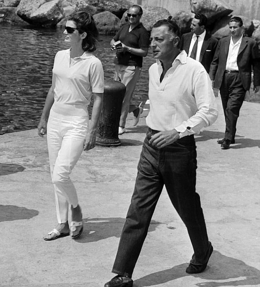 Bella Figura personified, Agnelli counted President and Mrs. Kennedy as friends