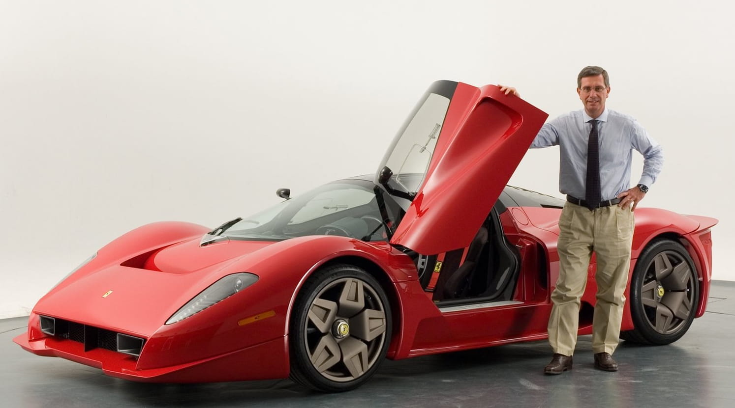 Andrea Pininfarina and the P 4/5