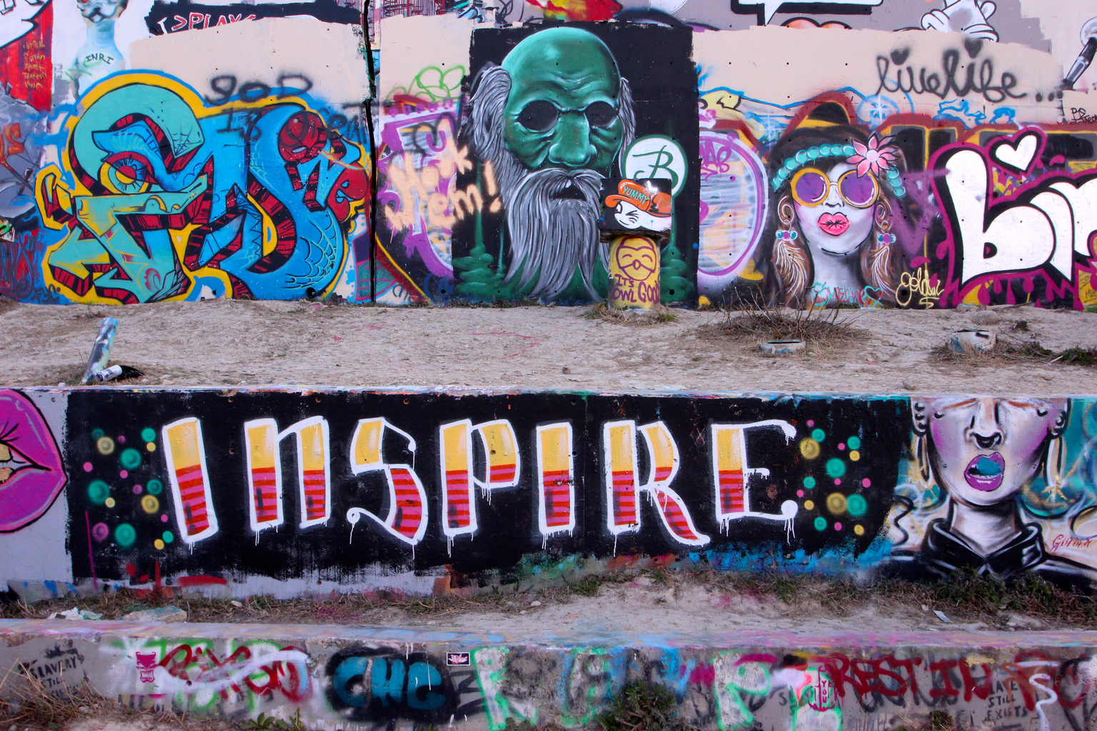 Hope Outdoor Gallery, 1101 Baylor St. Austin, TX