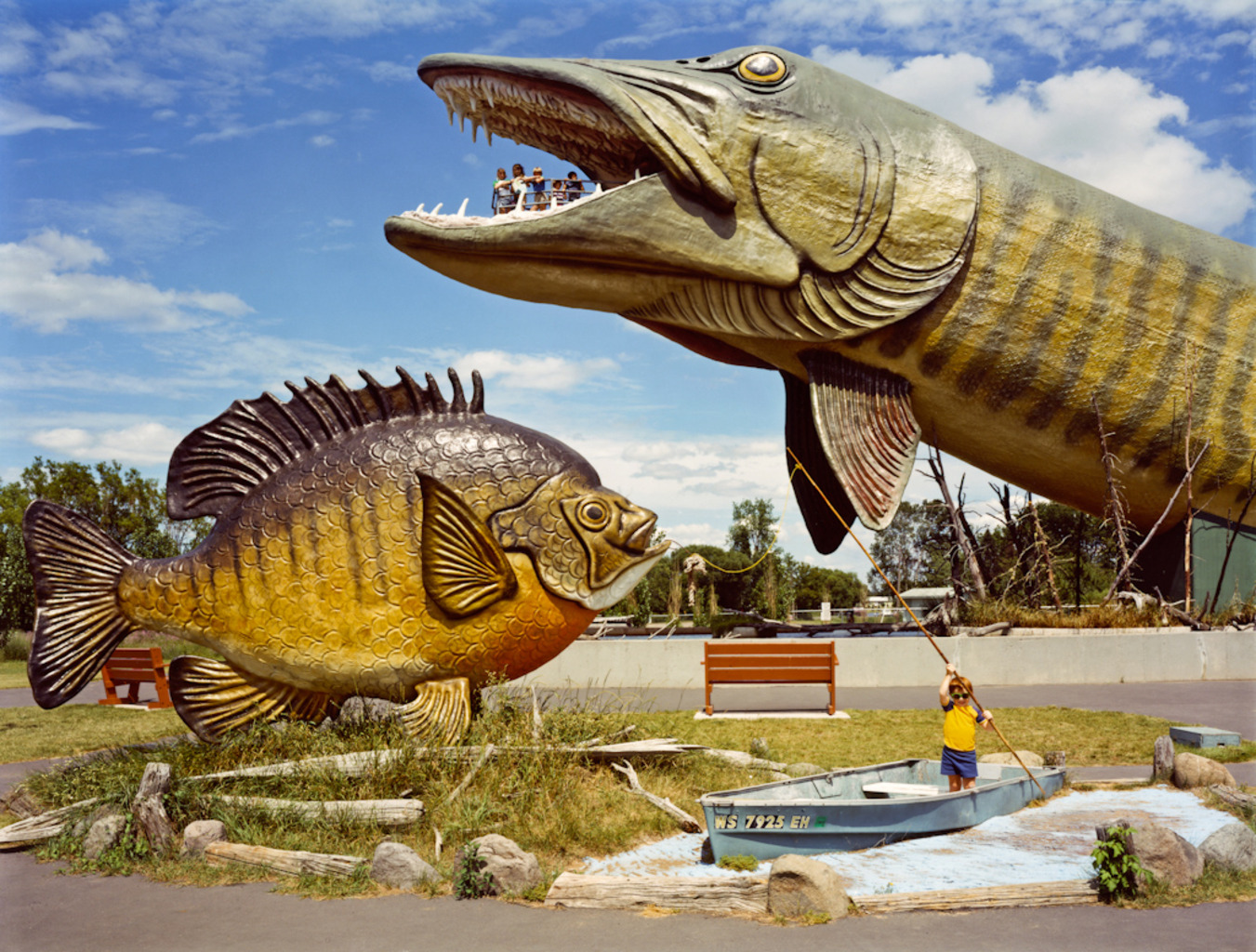 <em>National Freshwater Fishing Hall of Fame, Hayward, Wisconsin,</em> 1984