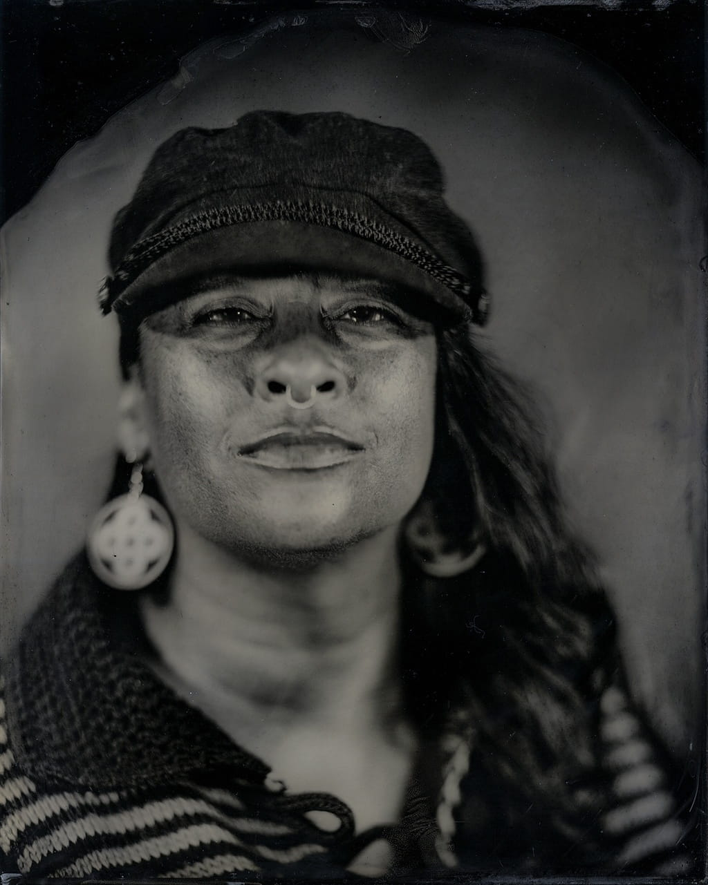 Tracy Rector, Citizen of the Choctaw Nation. Talking Tintype.