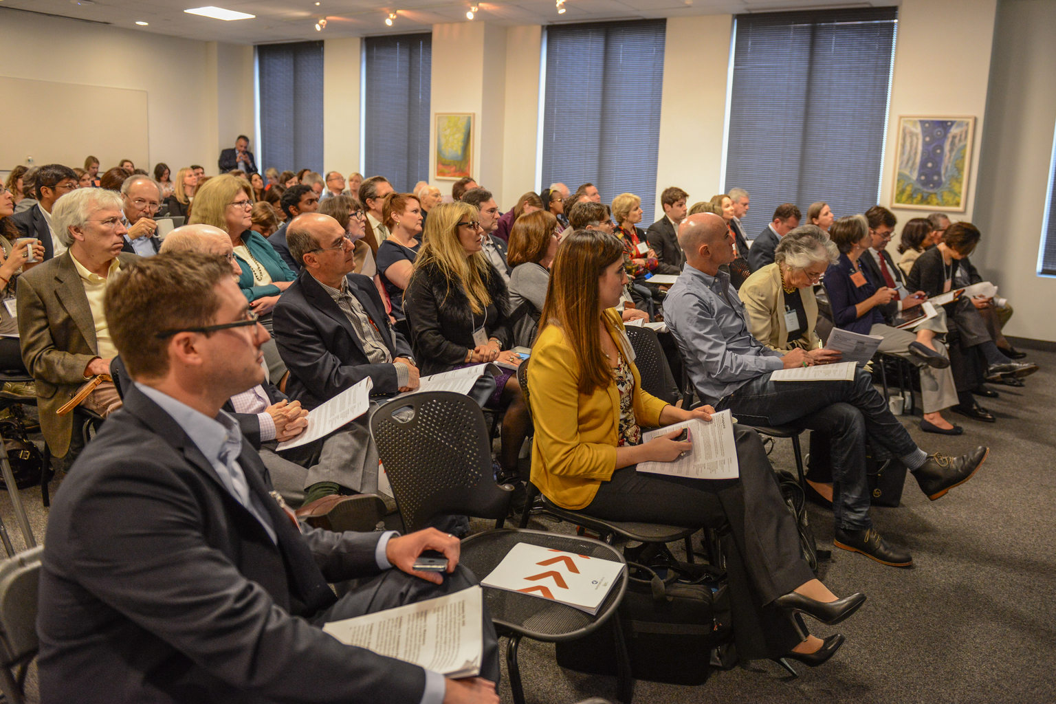 Investors attend our Boston Beyond the Pitch Event last week where 50% of the entrepreneurs were women.