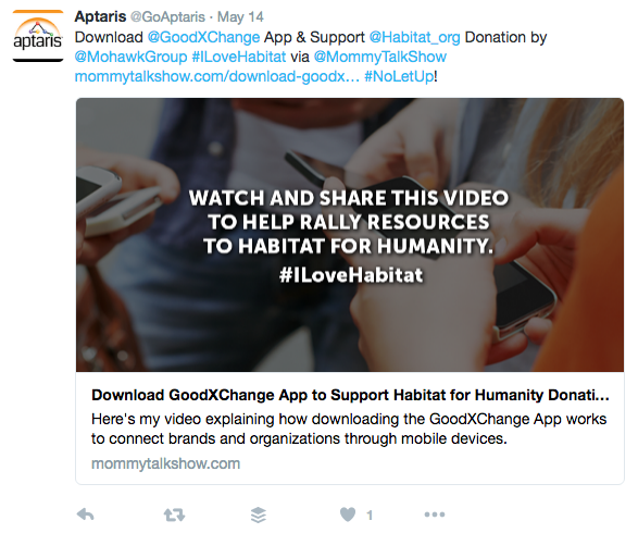GoodX: Mohawk + Habitat for Humanity | GoodXChange