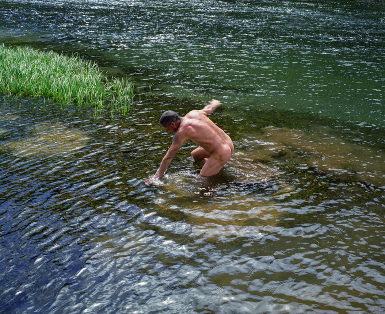 <em>water dance</em> Deschutes River, Oregon