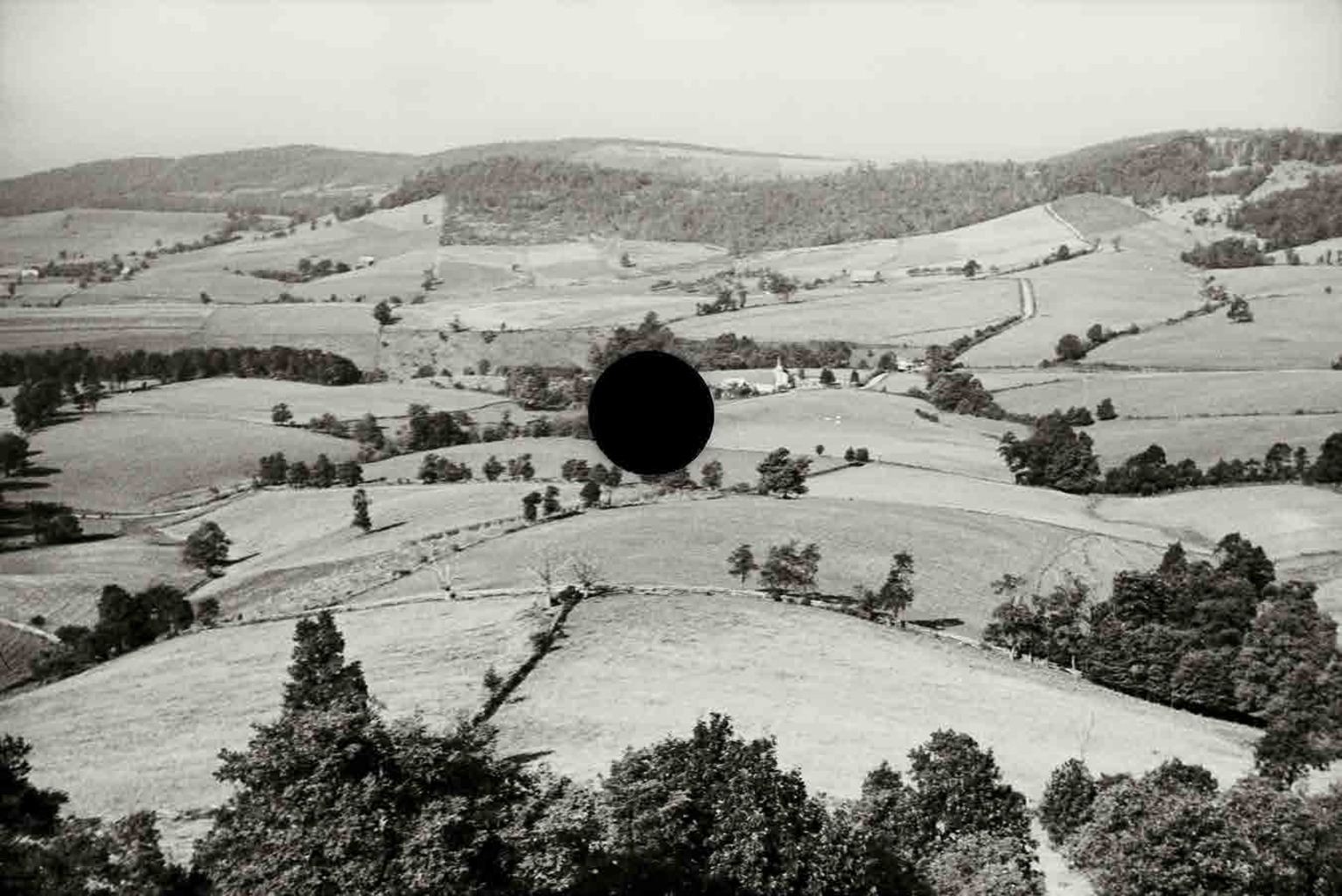 Good farming land, Garrett County, Maryland. 1935. Theodor Jung.