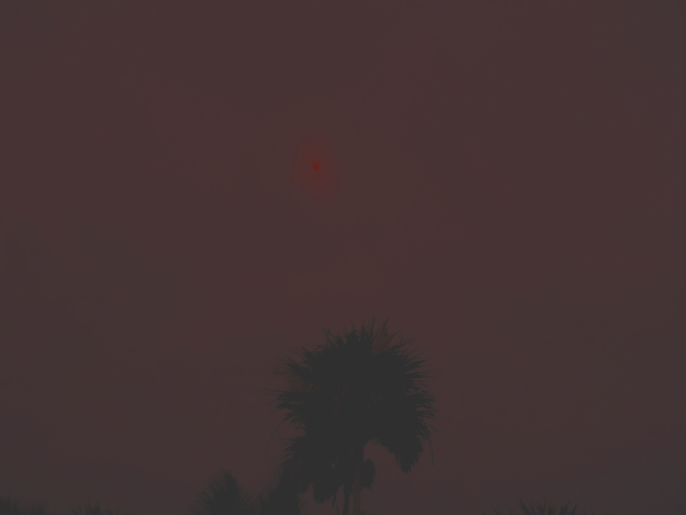 Red moon (blood moon), 2014