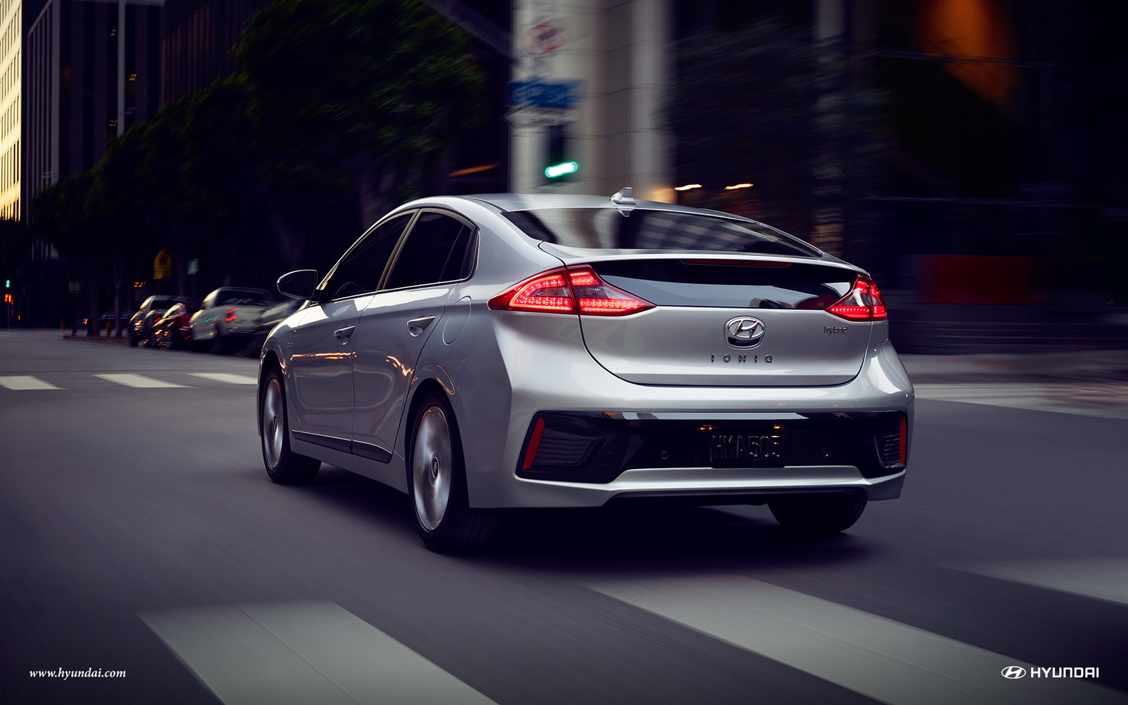 Hyundai's IONIQ, the world's first car offering three electric powertrains democratises e-mobility and is complemented with its own AR app.