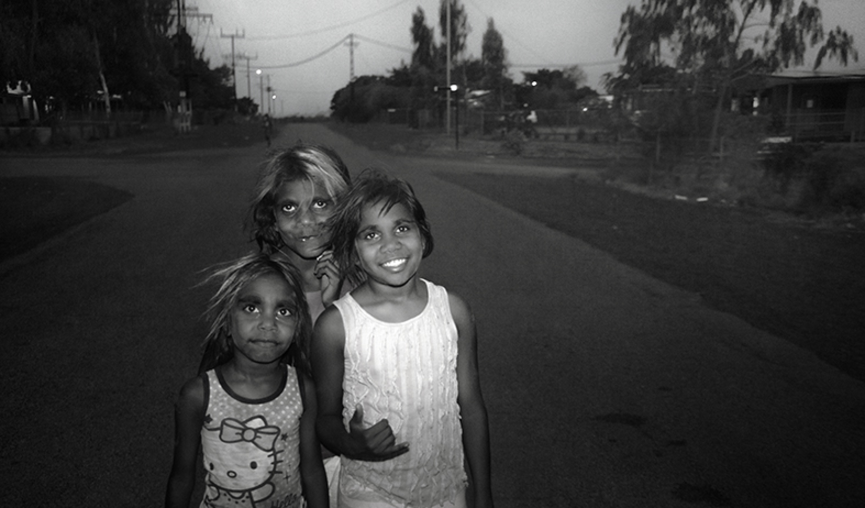 Three Warlpiri Girls (Lajamanu Community NT, June 2015)