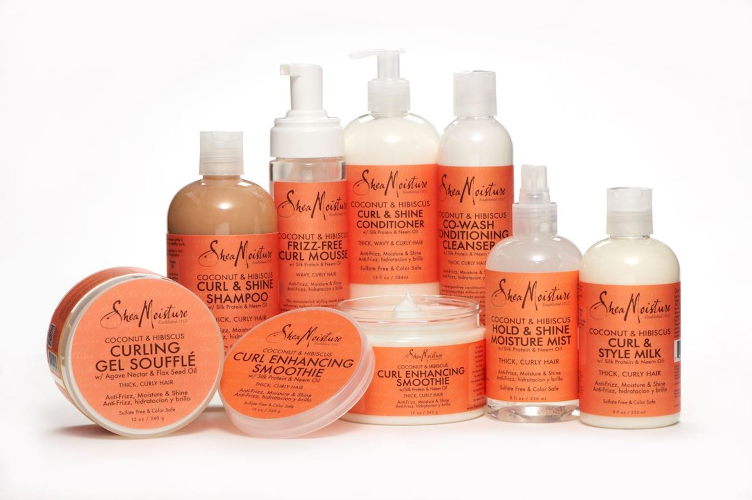 #Amazon has a wide variety of Shea Moisture products, like the Curl & Shine Collection.