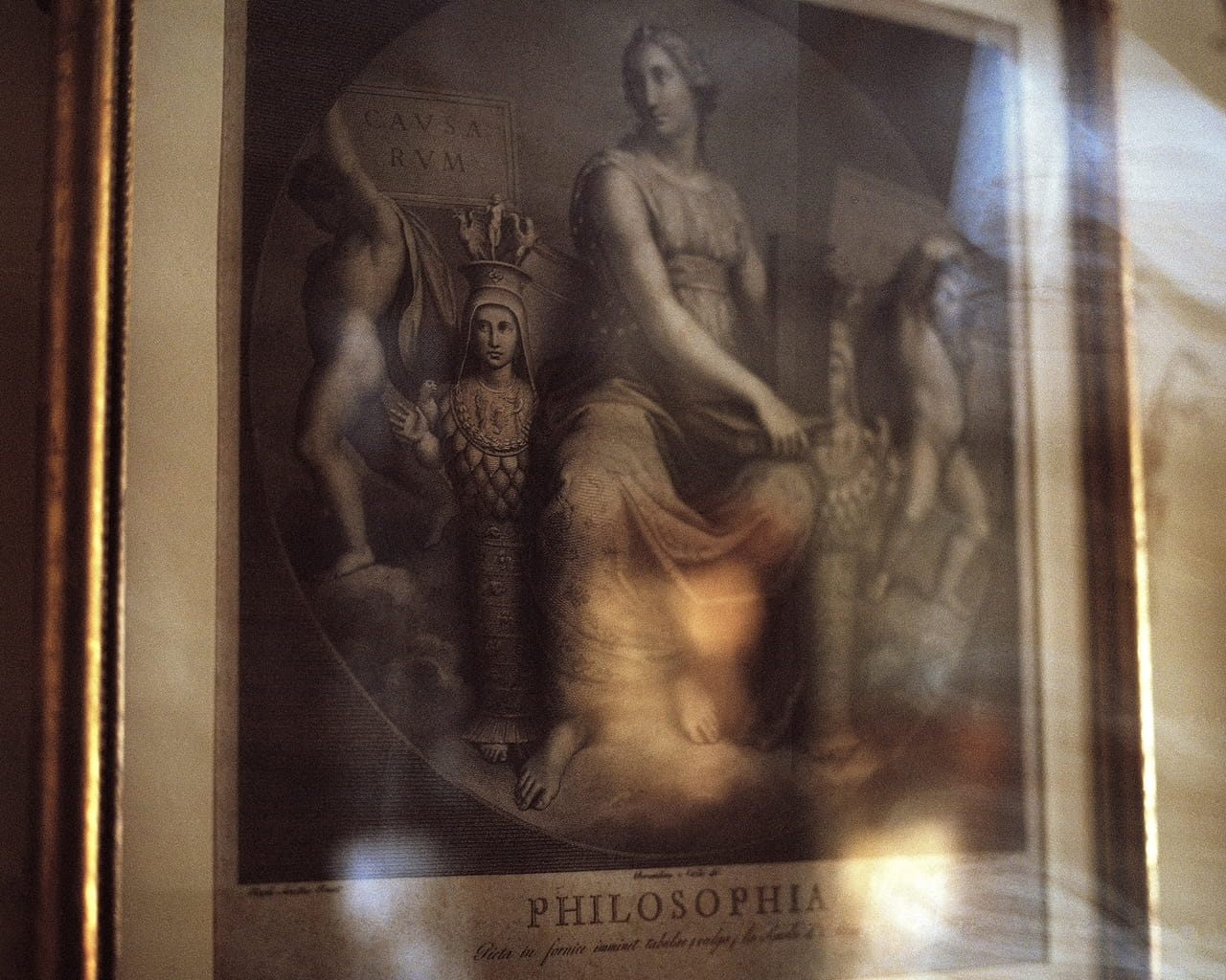 Philosophia, Ralph Waldo Emerson's Study, From the Collection of The Ralph Waldo Emerson Memorial Association at the Concord Museum